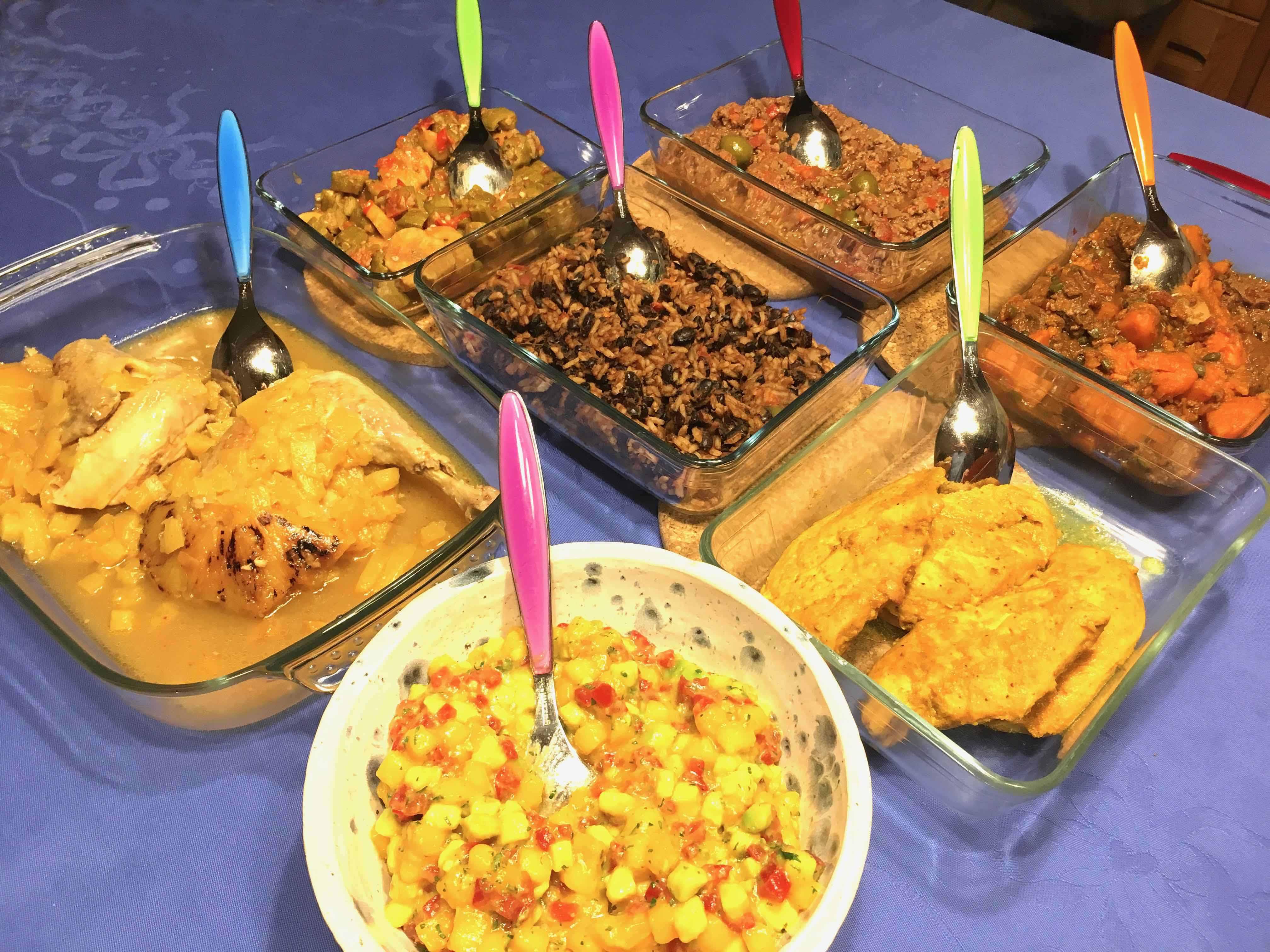 Les plats de la semaine cubaine