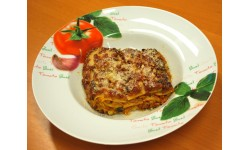 Lasagne végétarienne à l'émincé de soja