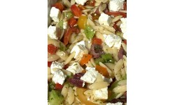 Salade de pâtes grecques Orzo